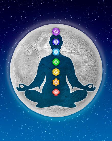 In Meditation With Chakras – Artwork III